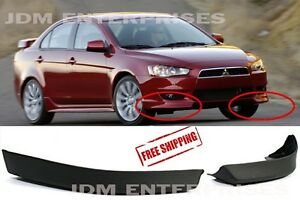 Mitsubishi Lancer 08 12 Polyurethane Front Lip Spoilers Direct Replacement Parts