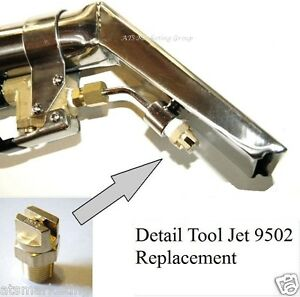 Carpet Cleaning Detail Upholstery Tools 9502 Jet Replacement