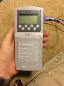 Nellcor Oximax N 65 Pulse Oximetry Ds 100a Finger Reader