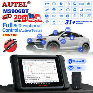 Autel Maxisys Ms906bt Bluetooth Automotive Diagnostic System Tool Code Scanner