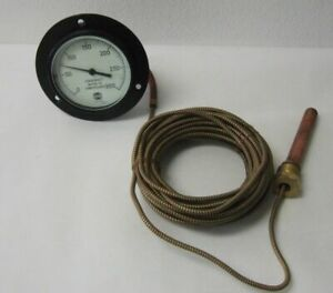 Usg Us Temperature Guage 0 300 F Preessure Gage Water To Compressor 35 Cable