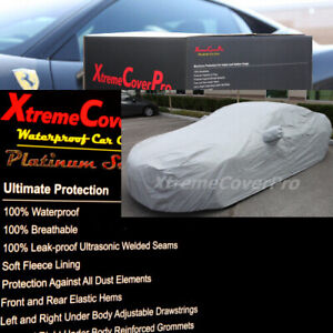 2017 2018 2019 2020 Dodge Challenger W Mirrorpocket Grey Waterproof Car Cover