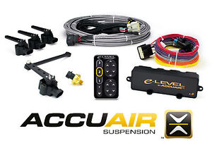 Accuair E level W Touchpad Electronic Leveling Kit For Air Bag Suspension