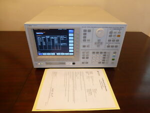 Keysight Agilent 4156c Precision Semiconductor Parameter Analyzer Calibrated
