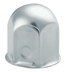 60 Stainless Steel Round Top Lug Nut Cover 41mm Truck And Trailer Lugs