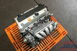 Honda Accord Acura Tsx 2 4l Dohc I vtec High Compression Engine Jdm K24a K24a2