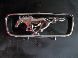 Vintage 1960 s Ford Mustang Grill Emblem