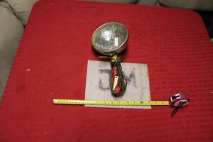 Vintage Handheld Spotlight T3 Sealed Beam With Cord Guide Light Harley Knuckle