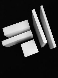 1 Virgin Ptfe Teflon Plastic Sheet Priced Per Square Foot Cut To Size