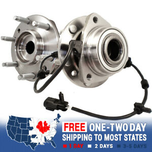 2 New Front Wheel Hub Bearing Chevy Trailblazer Gmc Envoy Bravada Rainier