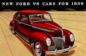 Ford Car 1939 Deluxe Or All 1940 Steel Running Board Set stock Pattern