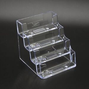Business Card Holder Clear Gift Card Holder Biz Card Display Organizer