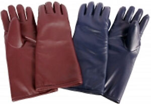 New ams X ray Protective 15 5 finger Glove 20801 bu color Is Brown burgundy