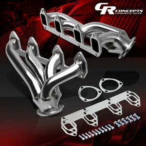 For Ford Big Block 330 360 390 428 5 4 6 4 7 0 Fe Shorty Header Exhaust Manifold