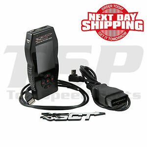 Sct X4 7015 Flash Tuner Programmer 2007 2010 Ford Mustang Shelby Gt500 5 4 V8
