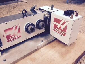 Haas T5c2 Cnc 4th 5th Axis Rotary Table Indexer 5c Collet Closer