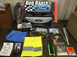 Ford Factory Emergency Roadside Assistance Kit Tools Safety Gear E series