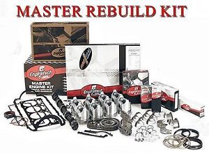 Master Engine Rebuild Kit Jeep Amc 258 4 2l Ohv L6 1986 1990