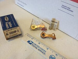 Old Car And Truck Ignition Points Dual Point Set Nos Item 6659