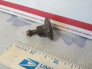 Studebaker Carburetor Special Nut And Diaphragm Item 8188