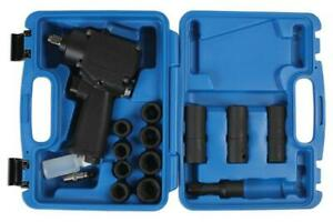Laser Tools 6487 Mini Air Impact Wrench Set 1 2 D