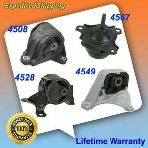 For 02 06 Acura Rsx Type S 2 0l Motor Trans Mount Kit 4pcs Manual Trans M238