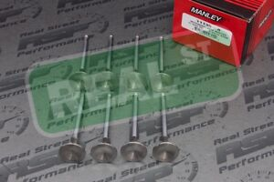 Manley Exhaust Valves Mitsubishi Eclipse Evo 1g 2g 4g63t 6bolt 7bolt 1mm 31 5mm
