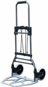Milwaukee Hand Trucks 33892 Steel Fold Up Truck With 7 inch Tires New Free Shi