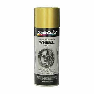 Duplicolor Hwp107 Gold Wheel And Rim Spray Paint Aerosol 11oz