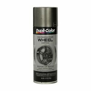 Duplicolor Hwp102 Graphite Charcoal Wheel And Rim Spray Paint Aerosol 11oz