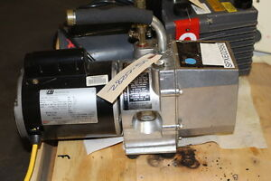J b Industries Dv 85 Vacuum Pump Working