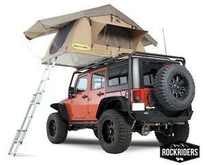Jeep Truck Camp Smittybilt Overlander Roof Top Camping Tent W ladder 2783 799