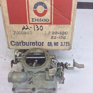 Nos Rochester 2gv Carburetor 7029140 1968 1969 Buick 350 Engine