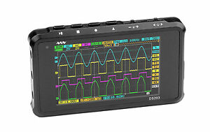Pocket Oscilloscope Ds203 Minidso Dso Quad Stm32 100 Original