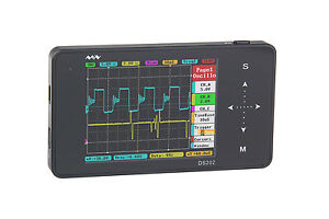 Pocket Oscilloscope Ds202 Minidso Dso Nano Arm Handheld Tft Lcd Touch Original