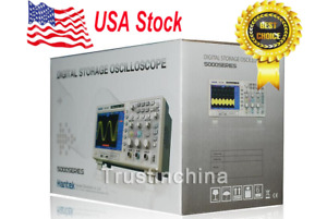 Usa Stock Hantek Dso5102p Digital Oscilloscope 100mhz 1gs 2ch 7 Tft
