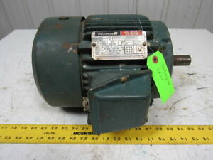 Reliance Electric P18g371a Electric Motor 3hp 3ph 3505rpm 230 460v