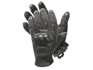 Blackhawk Fury Made With Kevlar Tactical Gloves 8157xlbk X large Hard Knuckle