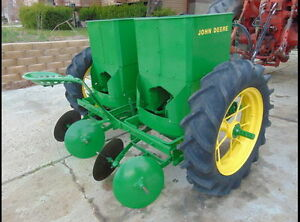 John Deere 212 Potato Planter 2 Row Late 50s Restored In 2016