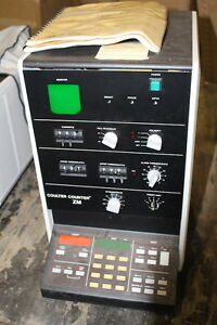 Coulter Counter Model Zm Control Particle Count