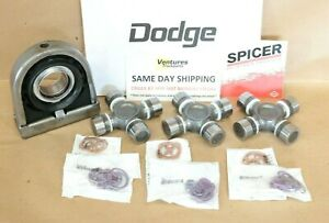 Carrier Support Bearing And Driveshaft Spicer Life U Joint Kit Dodge Ram 2500