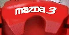 Mazda3 Mazda 3 Hi Temp Caliper Decals Stickers 6 Different Colors