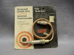 Honeywell Q340a 1074 Universal Thermocouple 30 Millivolt 24 Lead Lot Of 2