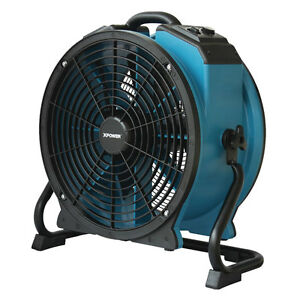 Xpower X 47atr 1 3hp Industrial Sealed Motor Axial Fan Air Mover W Outlet Timer