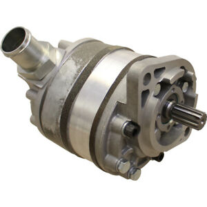 70249437 Hydraulic Pump Triple Stage For Allis Chalmers 180 185 Tractor