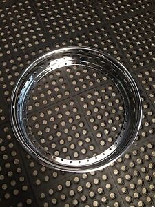 24x3 Outer 40hole Chrome Replacement Lip Fits Hre asanti forgiato ect