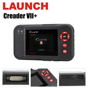 Genuine Launch Creader Vii 7 Plus Crp123 Code Reader Obdii Auto Scanner Airbag