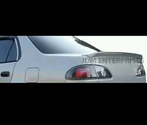 New Trunk Trd Lip Style Spoiler Wing Unpainted Primer Fits 98 02 Toyota Corolla