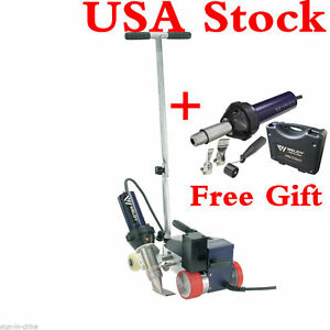 Usa Stock ac220v Weldy Rw3400 Roofer Hot Air Welder 40mm Nozzle Gift Free Gun