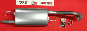 2009 2010 2011 Toyota Corolla 1 8l Direct fit Muffler Assembly new With Gasket